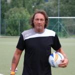 """L'allenatore dell'Olginatese Fabio """"Gatto"""" Corti"""