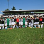 Juventus e Olginatese 2004 posano insieme al XXI torneo Giovani Promesse di Senago